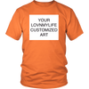 CUSTOM ART 4.3 oz T-Shirt - All Sizes & Colors