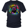 CAVALIER KING CHARLES SPANIEL 5.3 oz Winter T-Shirt, All Colors & Sizes