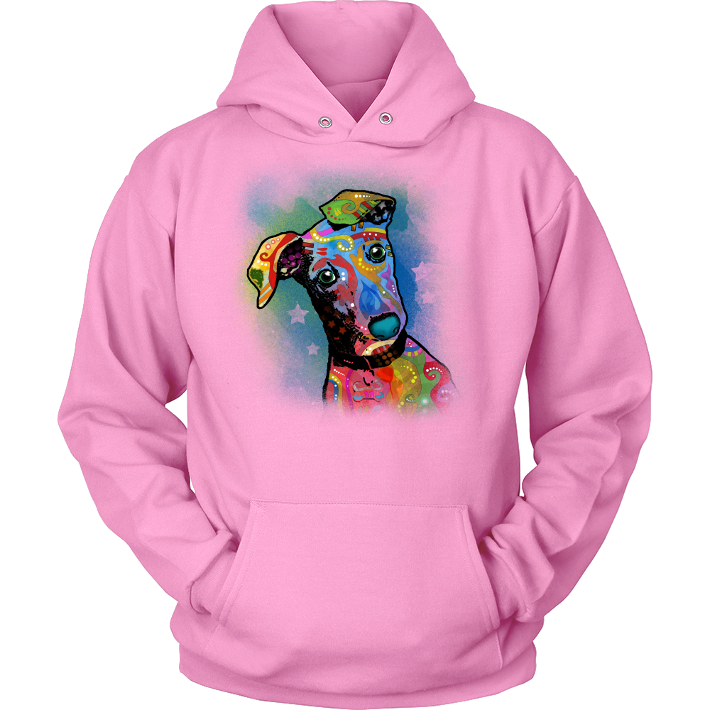GREYHOUND  Hoodie, All Colors & Sizes