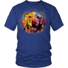 GOLDEN RETRIEVER 5.3 oz Winter T-Shirt, All Colors & Sizes
