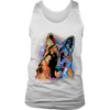 GERMAN SHEPHERD Men's Tank, All Sizes & Colors