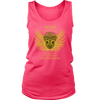 Woman with a French Bulldog- Women's Tank Top