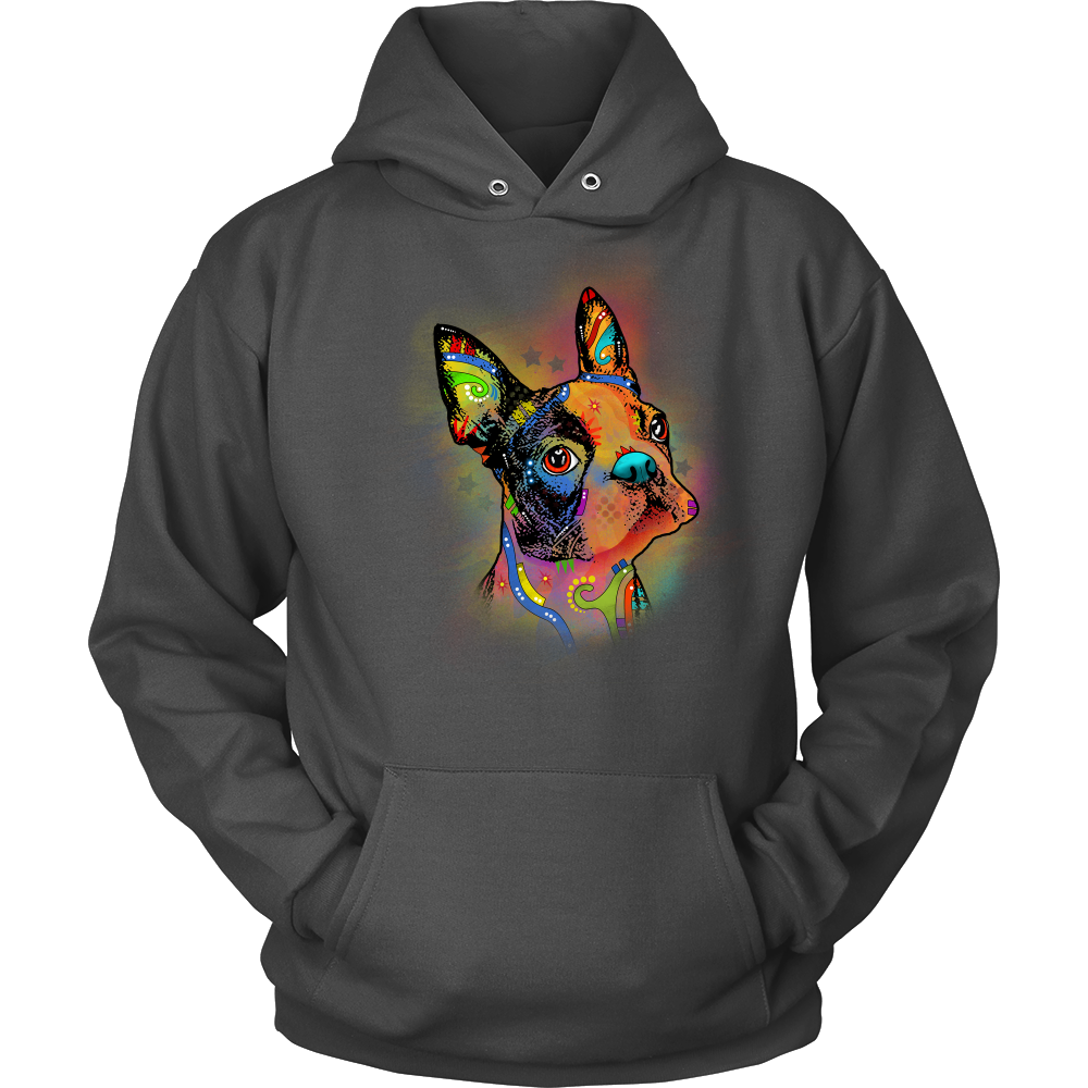 BOSTON TERRIER Hoodie All Colors & Sizes