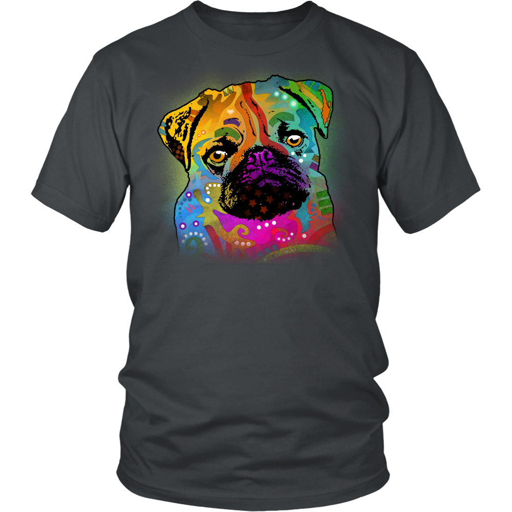 PUG 4.3 oz T-Shirt, All Colors & Sizes