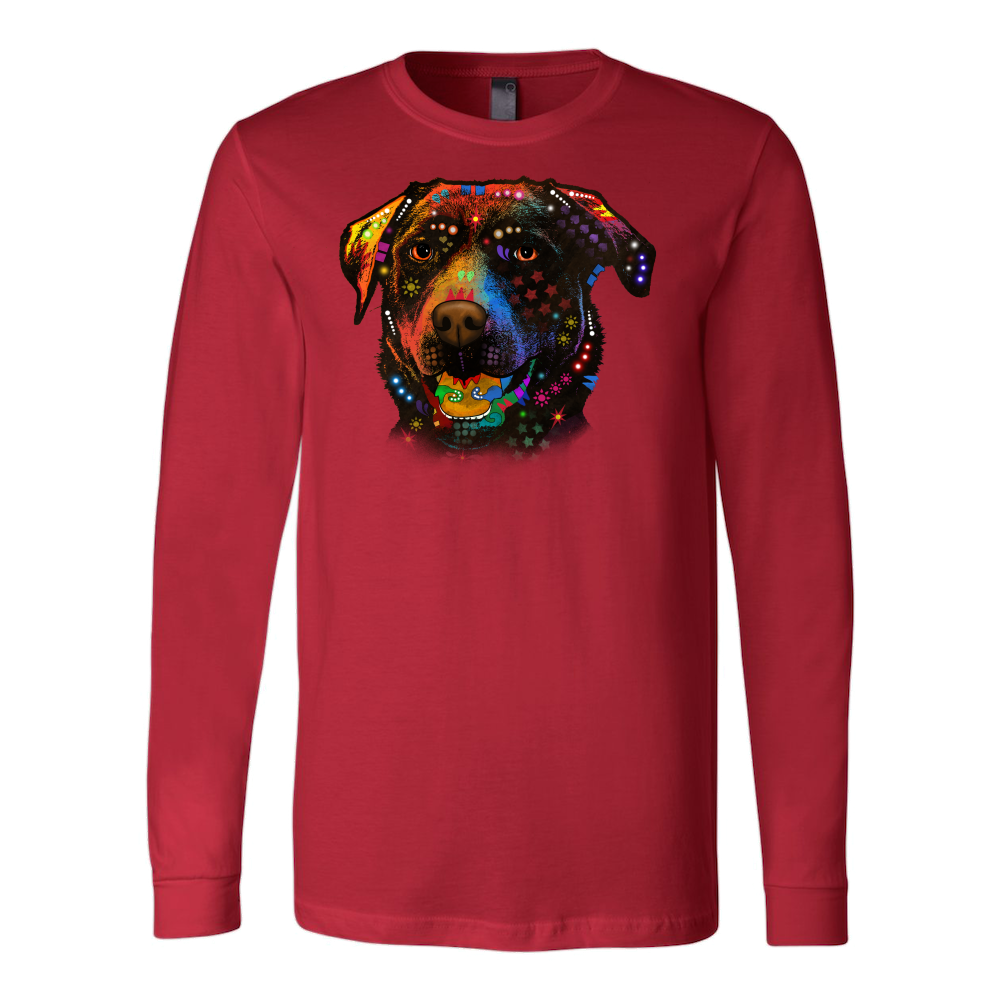 CHOCOLATE LABRADOR Long Sleeve Shirt, All Colors & Sizes