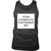 CUSTOM ART Men's Tank - All Sizes & Colors