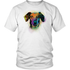 DACHSHUND 5.3 oz Winter T-Shirt, All Colors & Sizes