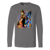 GERMAN SHEPHERD Long Sleeve Shirt, All Colors & Sizes