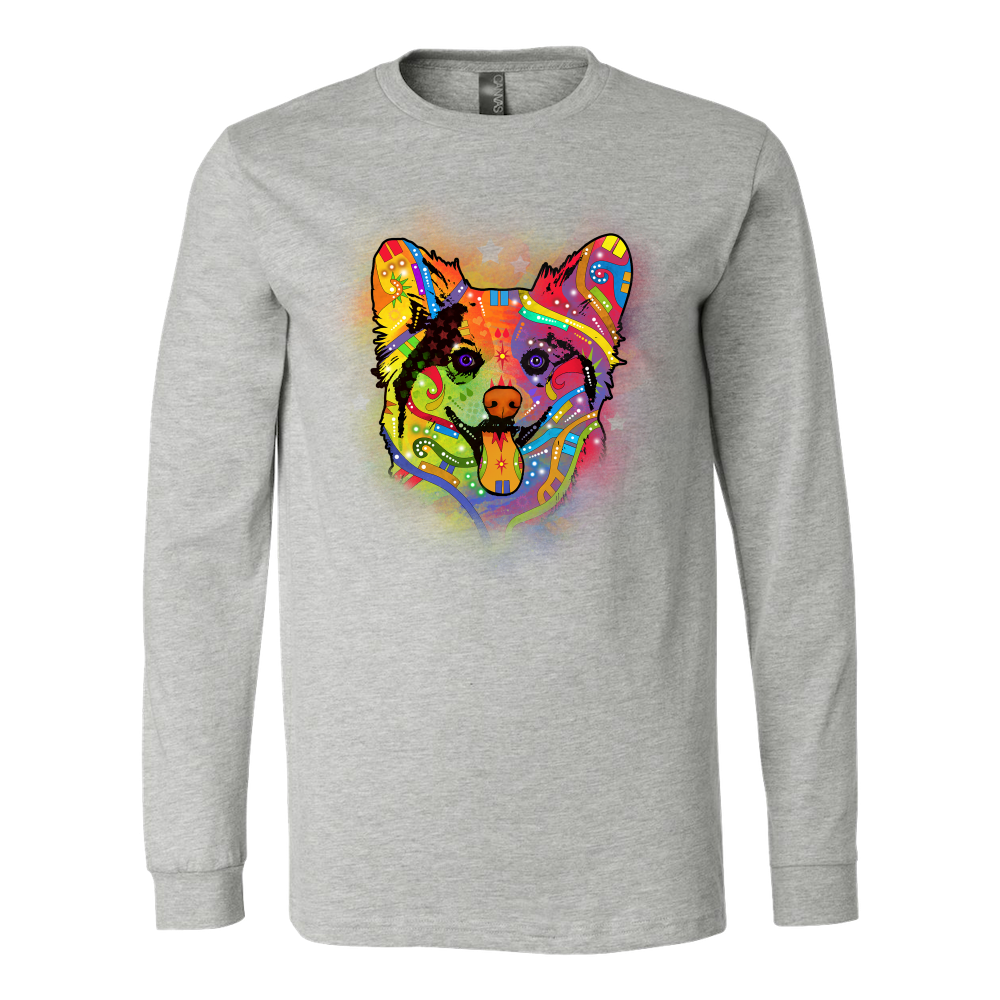 CORGI Long Sleeve Shirt, All Colors & Sizes