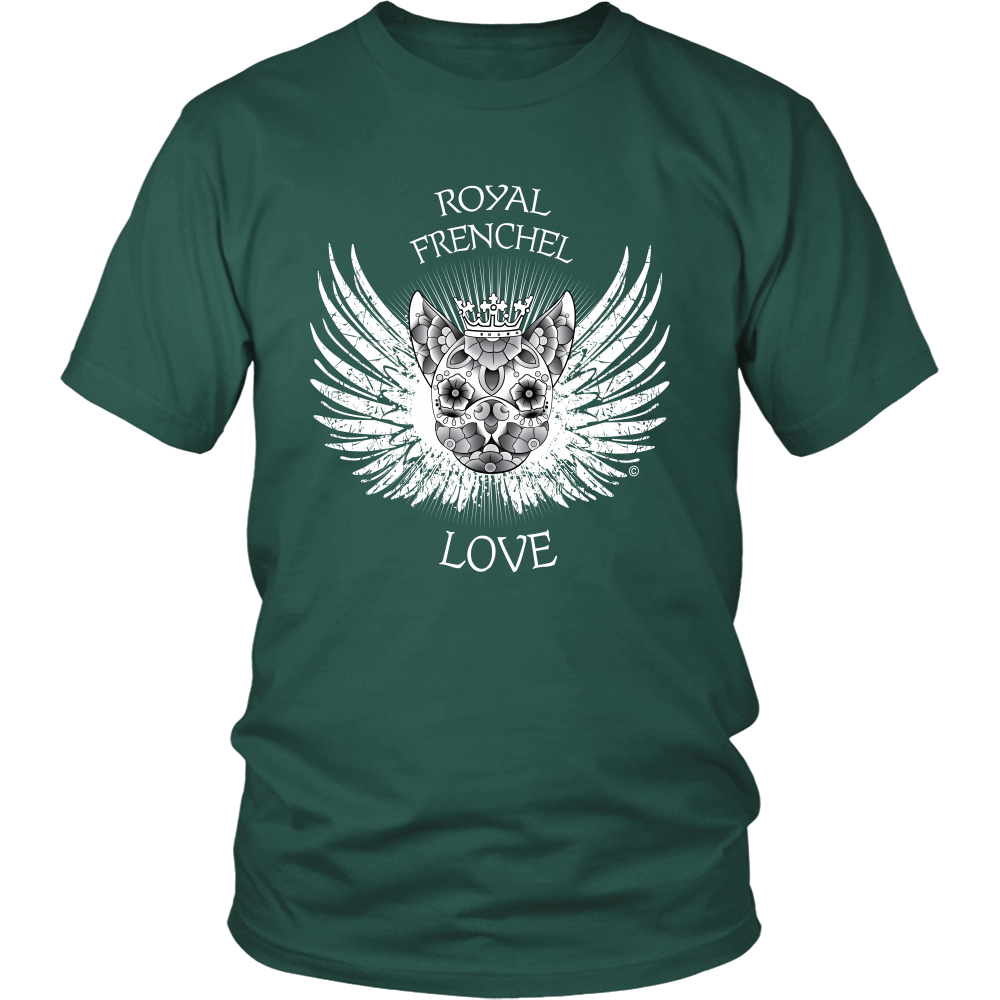 Royal Frenchel Love White - Unisex Tee