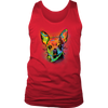 CHIHUAHUA Men's Tank Top, All Sizes & Colors