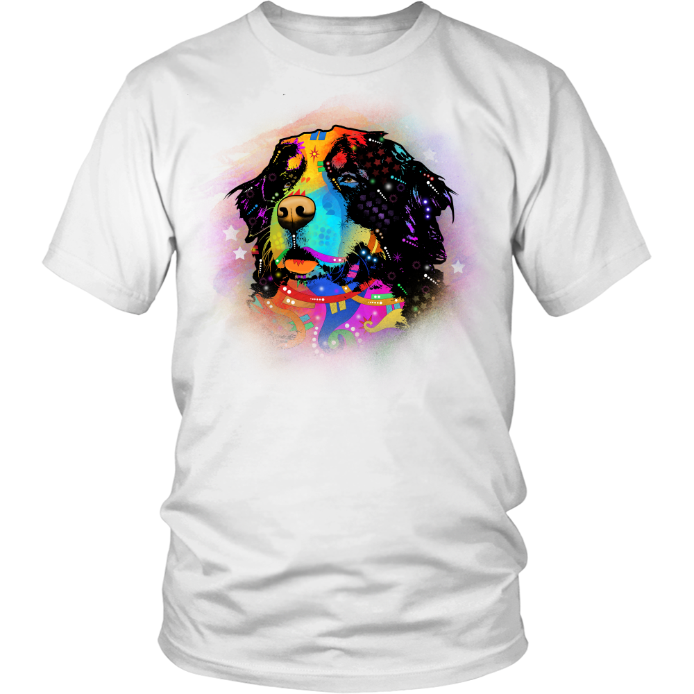 BERNESE MOUNTAIN DOG 5.3 oz Winter T-Shirt, All Colors & Sizes