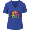 BEAGLE V-Neck T-Shirt All Colors & Sizes