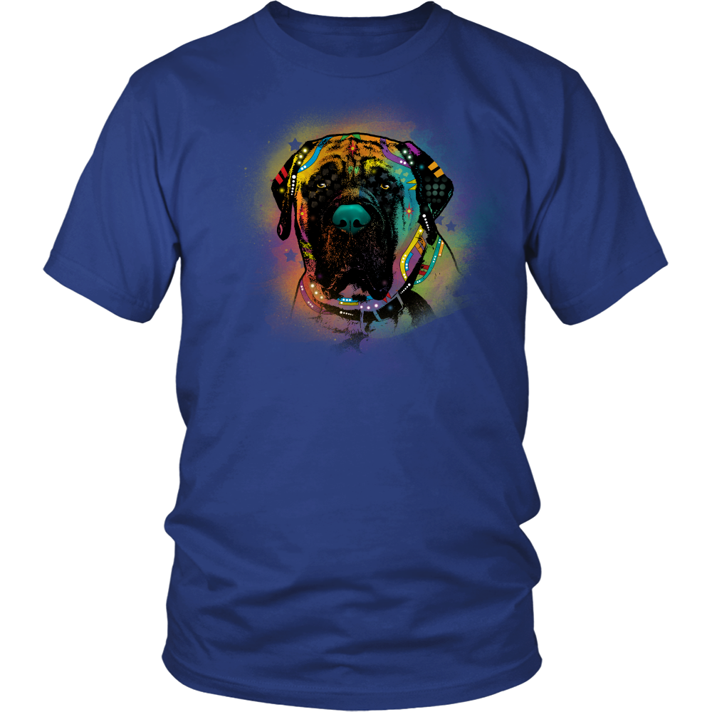 ENGLISH MASTIFF 5.3 oz Winter T-Shirt, All Sizes & Colors