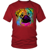 PUG 5.3 oz Winter T-Shirt, All Colors & Sizes