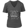Coffee & Your Opinion V-Neck Tee