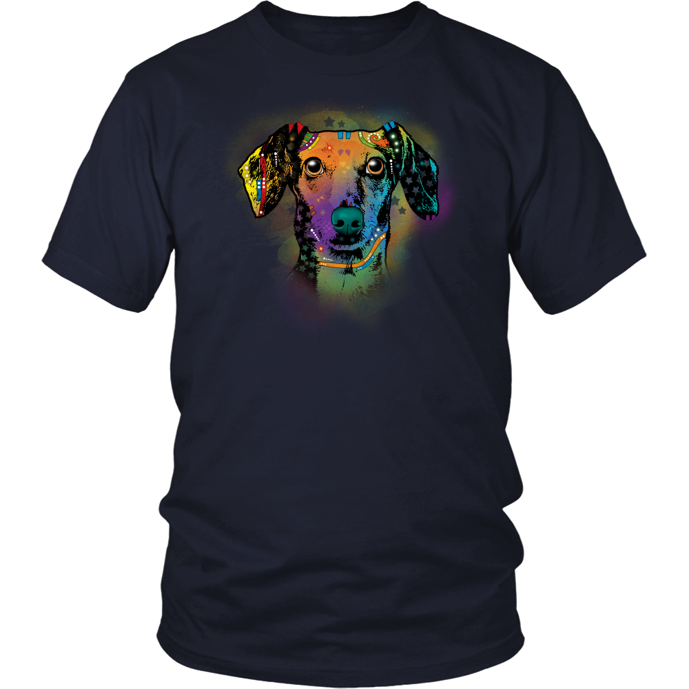 DACHSHUND 4.3 OZ T-SHIRT, All Sizes & Colors