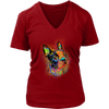 BOSTON TERRIER V-Neck , All Colors & Sizes
