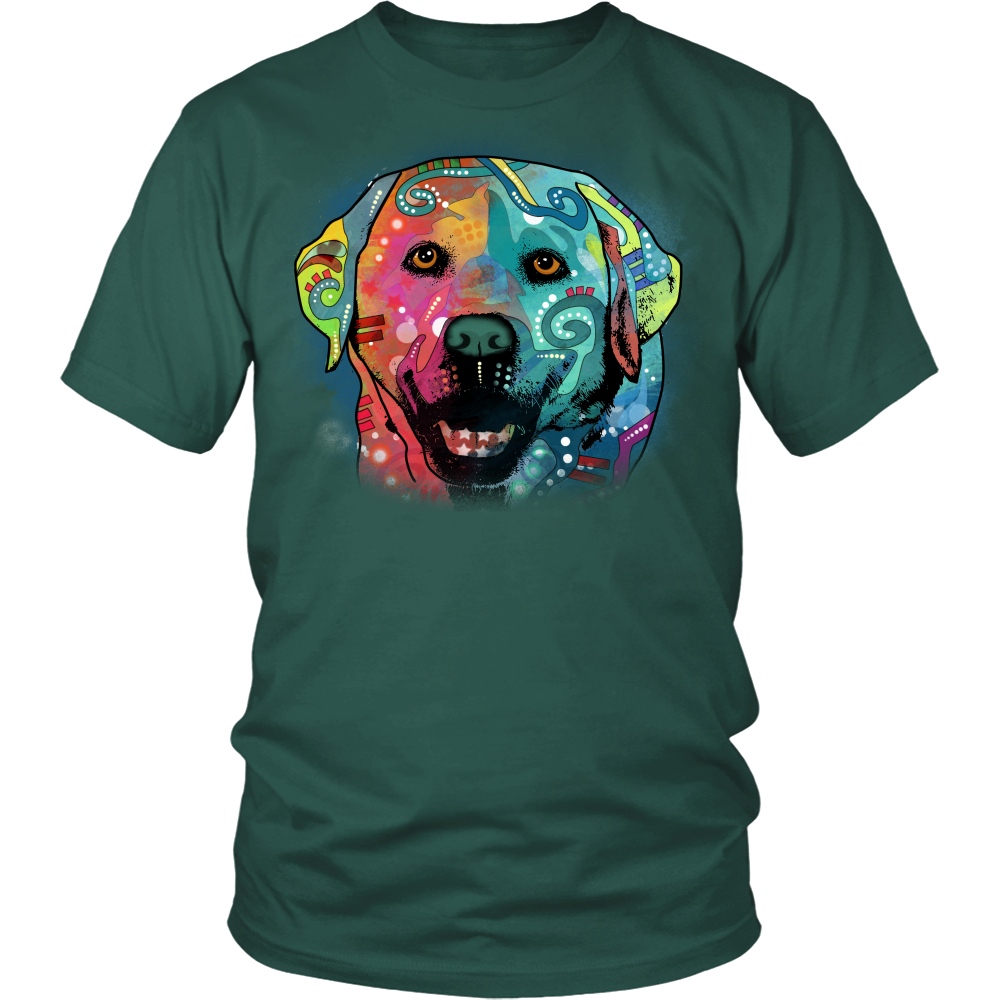 LABRADOR 4.3 oz T-Shirt All Colors & Sizes