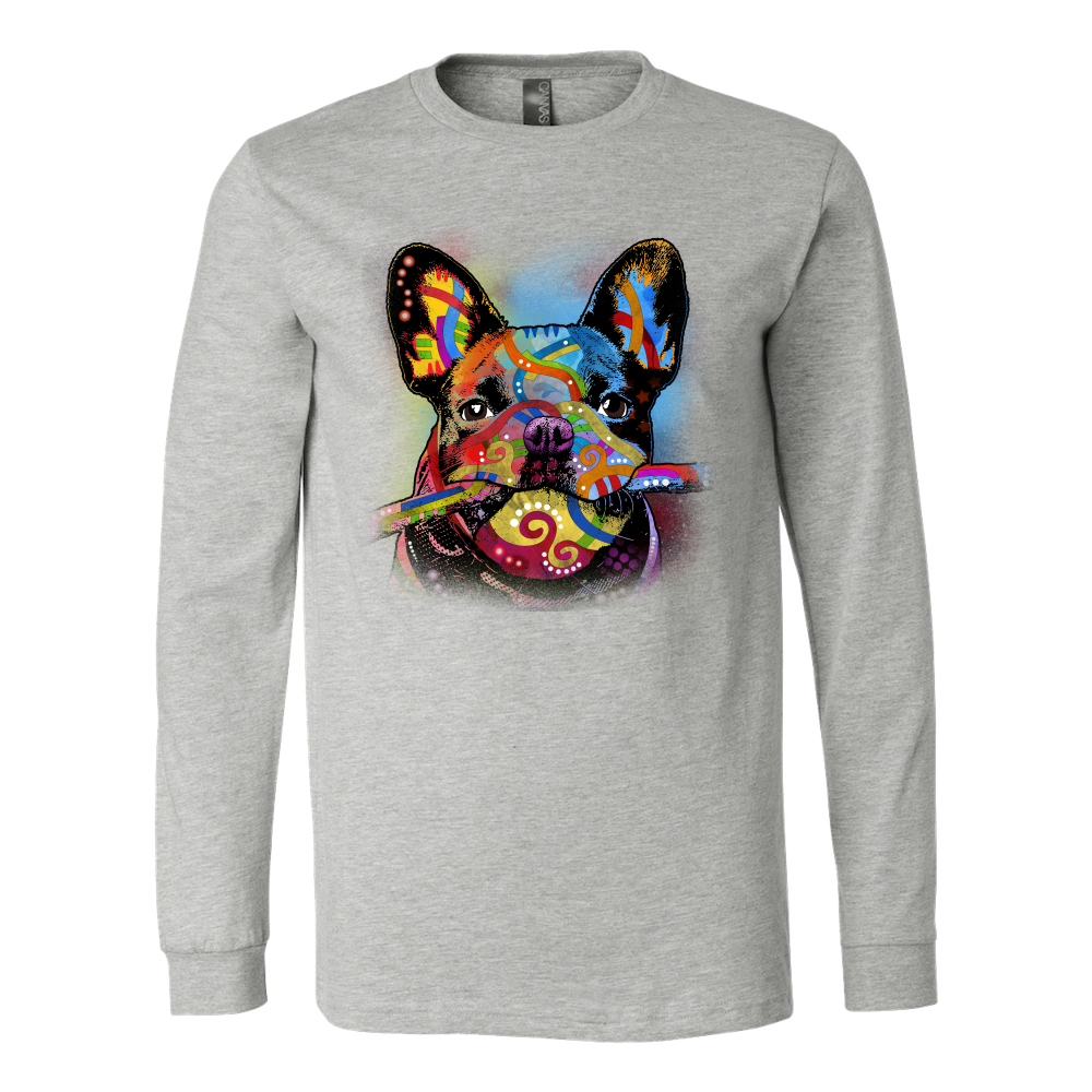 FRENCH BULLDOG Lover Long Sleeve Shirt, All Colors & Sizes