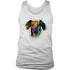 DACHSHUND Men's Tank, All Sizes & Colors