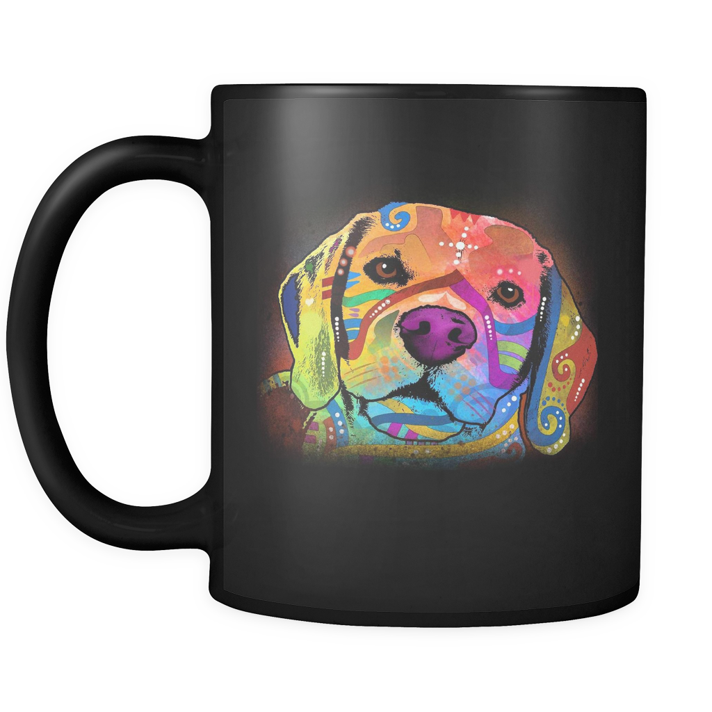 BEAGLE 11oz Black Mug
