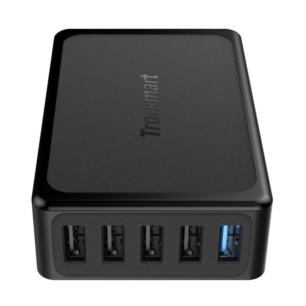 Tronsmart U5PTA 3.0 USB Charger And 4 Volt IQ Ports For Quick Charge 3.0 Compatible Devices