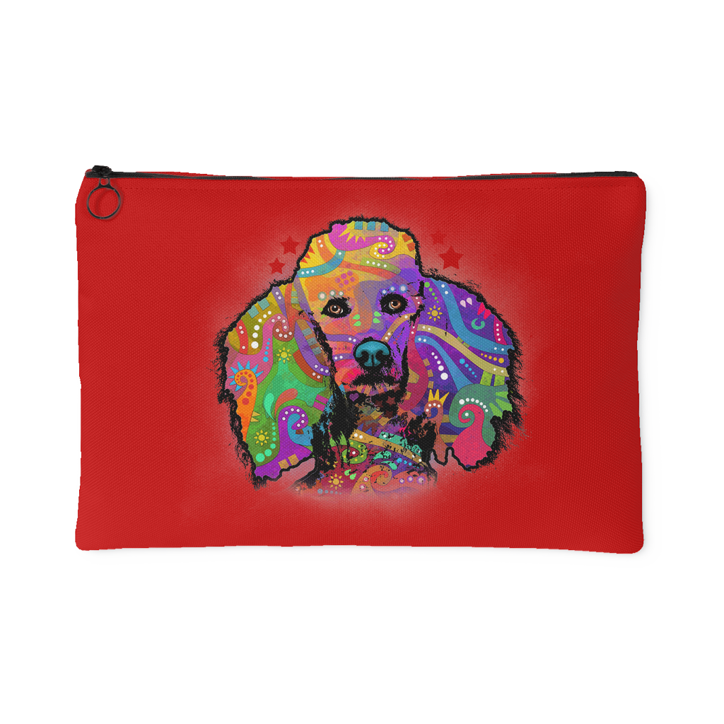 POODLE Accessory Pouch, Red