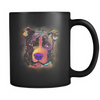 PITBULL 11 oz Black Mug