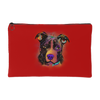 PITBULL Accessory Pouch, Royal Red