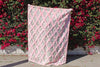 Pink Handira Wedding Blanket