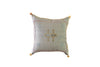 Embroidered Cactus Silk Sabra Pillow