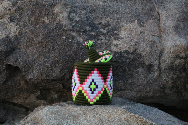 Green Berber Basket