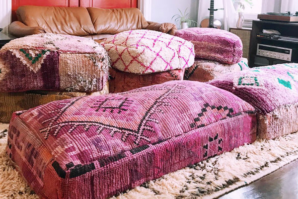 Greatest MOROCCAN FLOOR SOFAS – The Blooming Loom LZ42