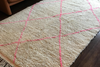 Pink Beni Ourain Rug