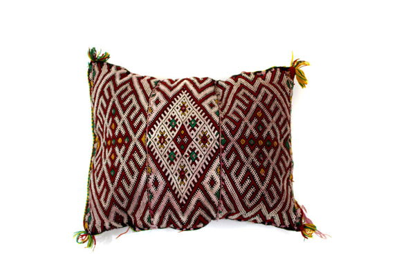 Red Berber Pillow
