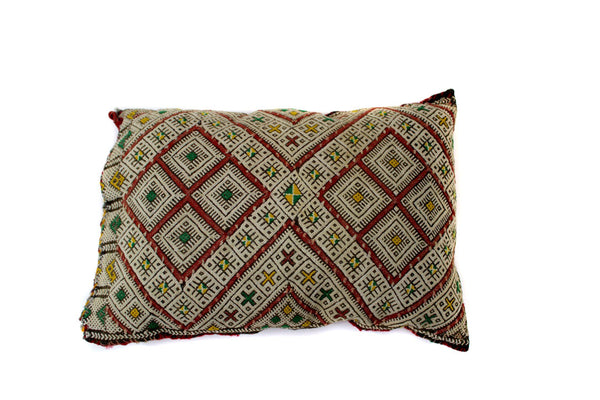 Muted XL Berber Pillow