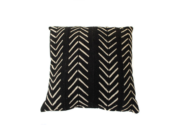 Black Mud Cloth (18 x 18)