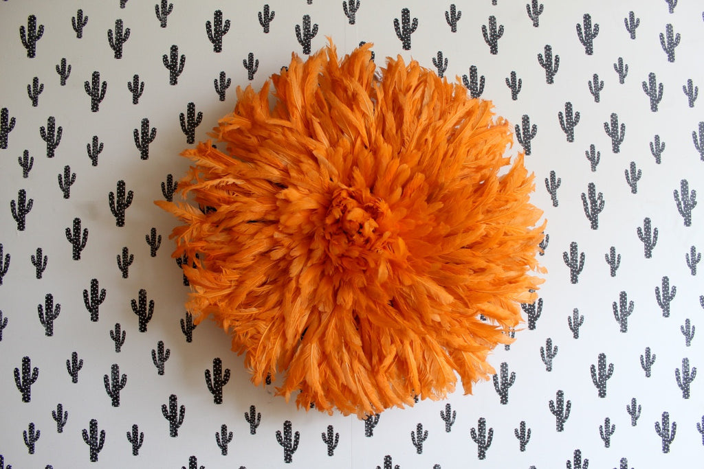Orange Juju Hat - 20 inches