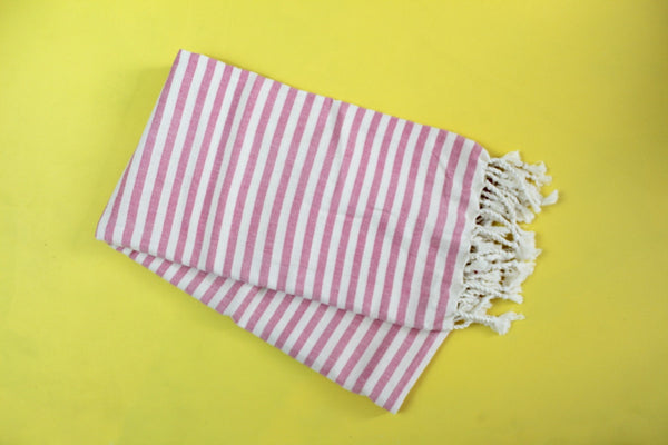Pink Acacia Turkish Towel