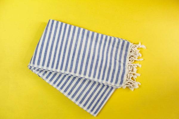 Blue Acacia Turkish Towel