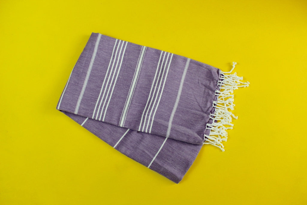 Purple Turkish Towel