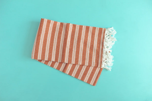 Palace Orange Turkish Towel