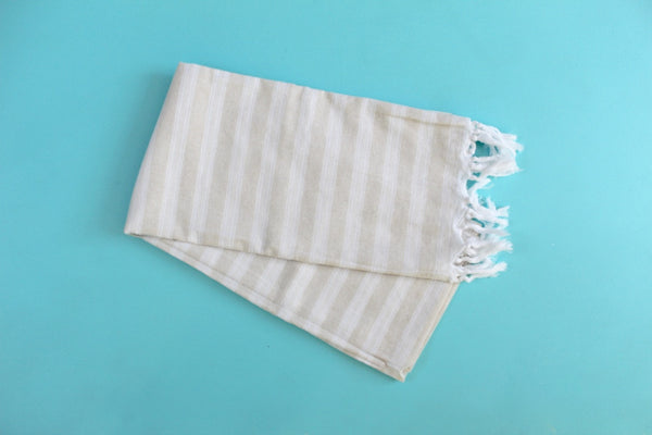 Palace Beige Turkish Towel