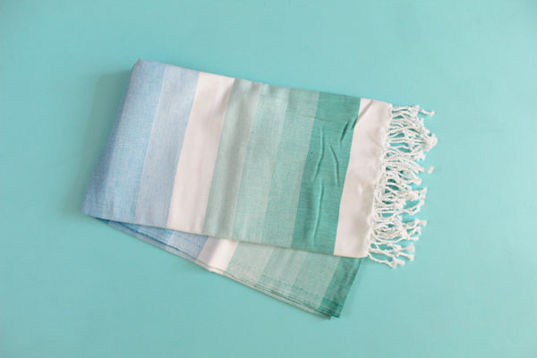 Colorful Mint Turkish Towel