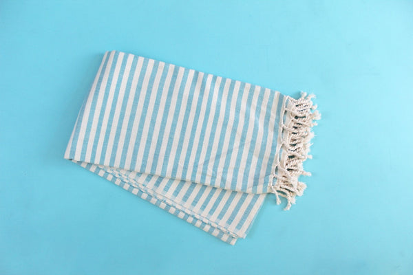 Aqua Acacia Turkish Towel