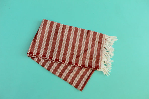 Palace Red Turkish Towel