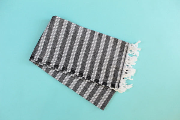 Palace Black Turkish Towel