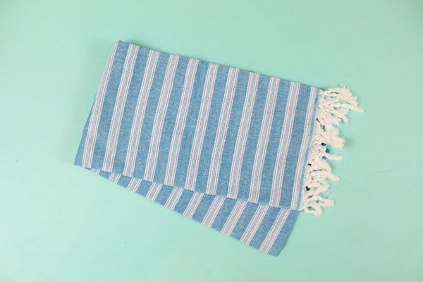Palace Blue Turkish Towel