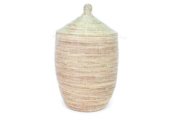 Oversized White Senegal Hamper